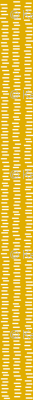 Running Stitch   Mustard Yellow