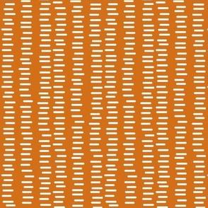 Running Stitch | Pumpkin Orange