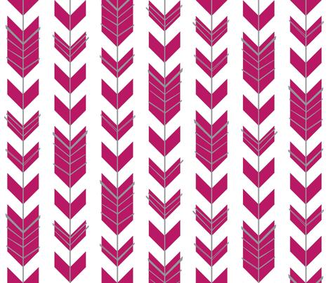 Hallow Fields | Jawbreaker Feathers fabric by kennerroad on Spoonflower - custom fabric