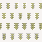 Army Green Triple Triangle