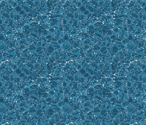 Sea Of Stars fabric by noaleco on Spoonflower - custom fabric