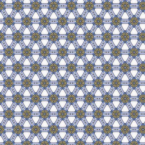 Libero's Triangles fabric by siya on Spoonflower - custom fabric