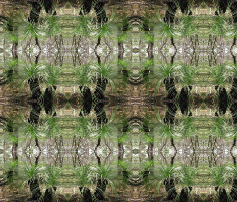 grass tree fabric by melforrest on Spoonflower - custom fabric