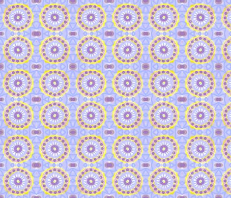Imaginary Flower  fabric by robin_rice on Spoonflower - custom fabric