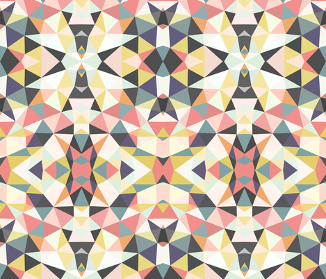Deco Tribal fabric by beththompsonart on Spoonflower - custom fabric