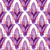 Fleur de Lis purple