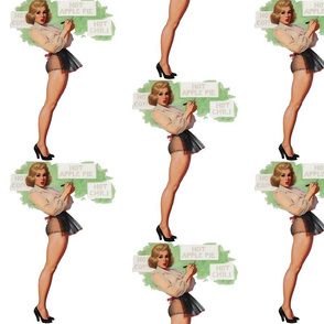 Hot Apple Pie Pin Up