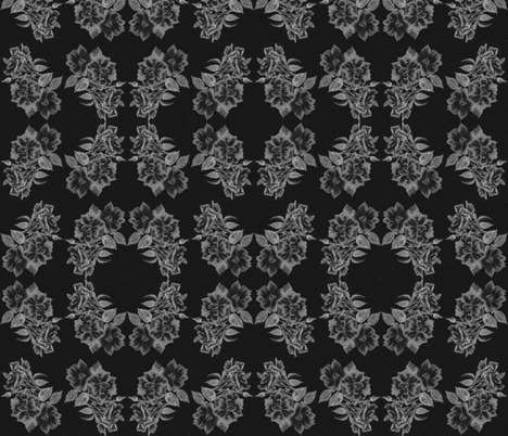 Rosa_BW fabric by joan_stewart on Spoonflower - custom fabric