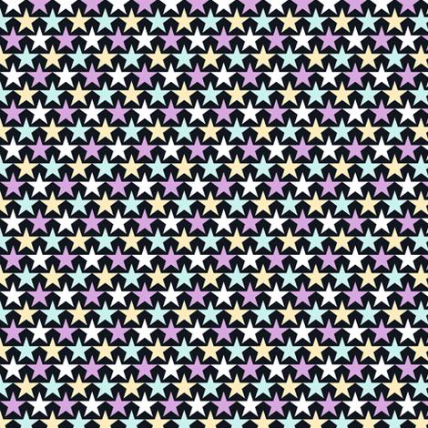 aligned stars 1x 4 fabric by sef on Spoonflower - custom fabric