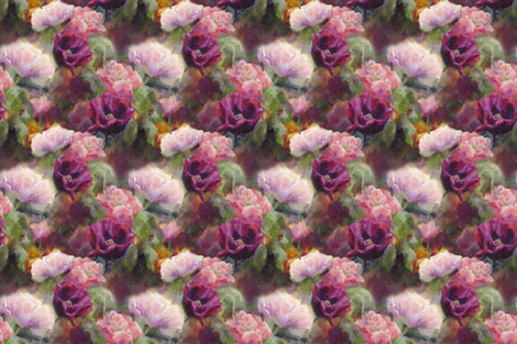 Poppy Dance fabric by karenwhitworth on Spoonflower - custom fabric