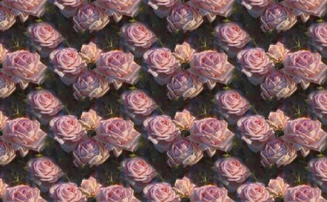 Nana's Roses fabric by karenwhitworth on Spoonflower - custom fabric