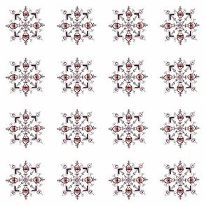 Halloween Snowflake Kaleidoscope_8