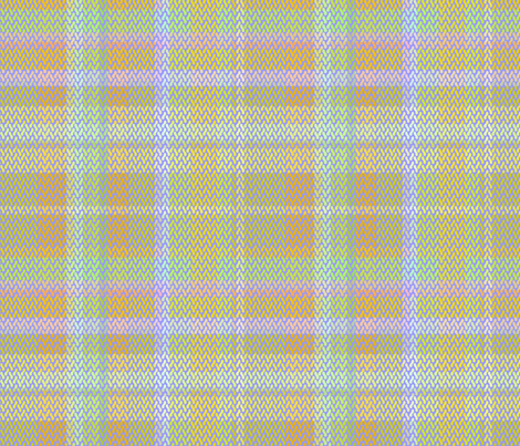 pastel plaid 001 fabric by glimmericks on Spoonflower - custom fabric