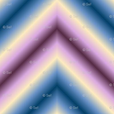 ombre zigzag - twilight haze