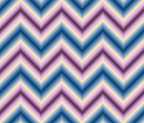 ombre zigzag - twilight haze fabric by sef on Spoonflower - custom fabric