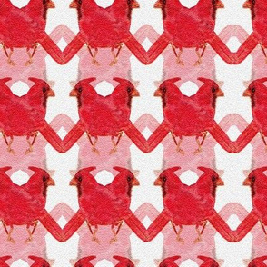 Flocks of Cardinals