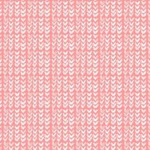Hand Knit - 31 Peach Reverse
