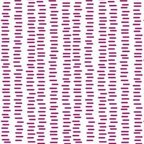 Running Stitch | Jawbreaker Pink