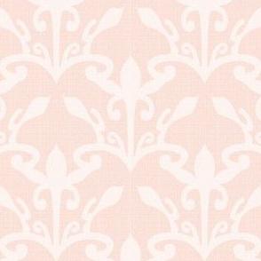 lace cutout shell damask