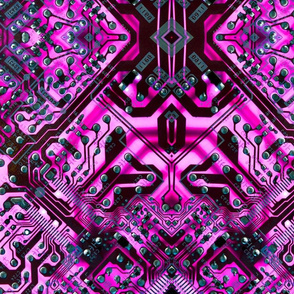 circuit board pink