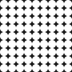 circles : white + black : medium