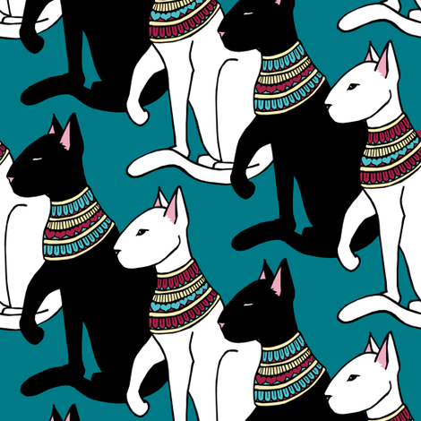 Fancy Cats fabric by pond_ripple on Spoonflower - custom fabric
