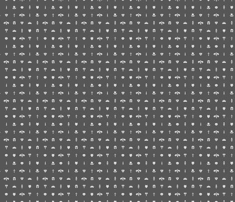 House Stark Fabric By Nobonesleft On Spoonflower   Custom Fabric