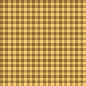 wheat gingham