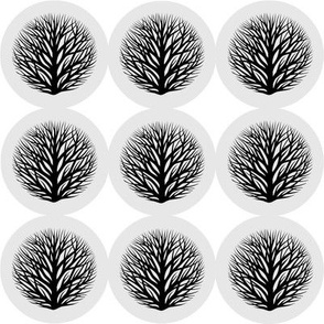 button branches B&W