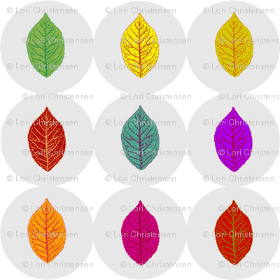 leaf buttons