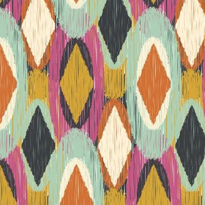 Sequoyah Oval Ikat