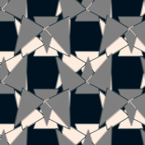 Slightly Off-Kilter Triangles Reminiscent of Heckle and Jeckle