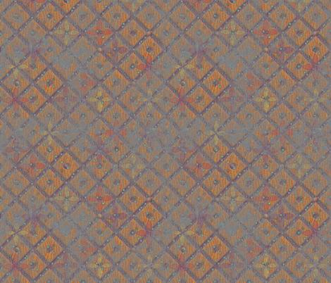 beaded trellis rough paint  fabric by glimmericks on Spoonflower - custom fabric