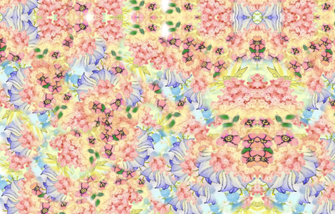 FARBRIC_DESIGN_YELLOW_BLUEBELL fabric by maryelainedegood_wheatley on Spoonflower - custom fabric