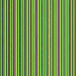 LIZARD GECKO Green Small Stripes