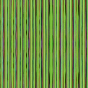 LIZARD GECKO GREEN Unusual Stripes