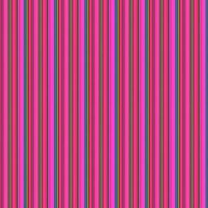 LIZARD GECKO FUSHIA Small Stripes