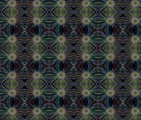 daisies fabric by kernalg on Spoonflower - custom fabric