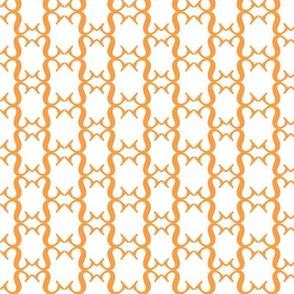 Sree S, orange