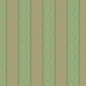 strips in mint and bamboo