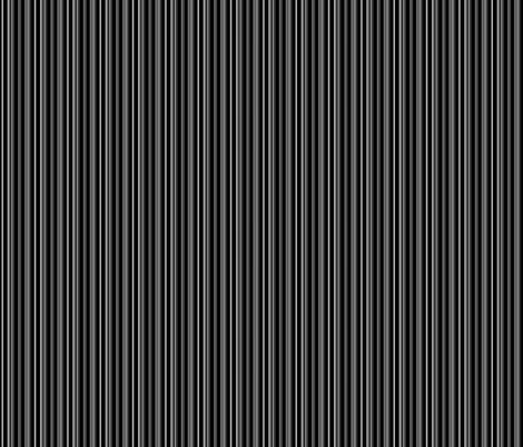 LIZARD GECKO BLACK stripes fabric by paysmage on Spoonflower - custom fabric