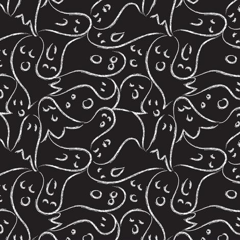 Boo! fabric by mag-o on Spoonflower - custom fabric