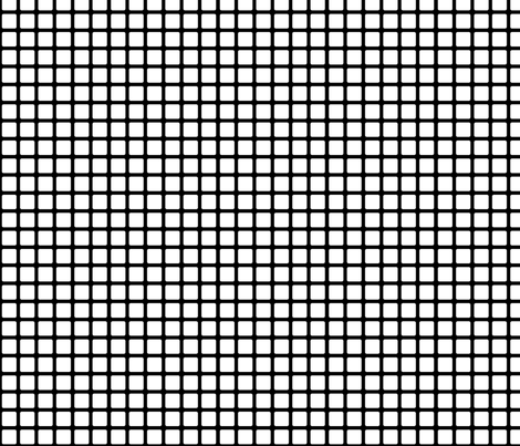 Inversed Rounded Square Dots fabric by carbonatedcreations on Spoonflower - custom fabric