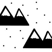 Black Mountain - Snow Cap Mountains