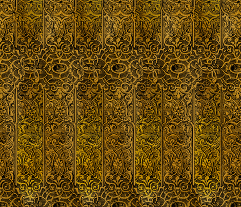 Dangerous Liaisons ~ Gilt Cage fabric by peacoquettedesigns on Spoonflower - custom fabric