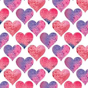 geometric love #fuchsia