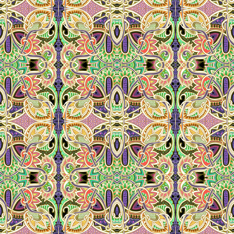 Martian Weed Patch fabric by edsel2084 on Spoonflower - custom fabric