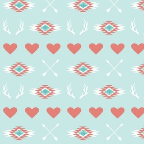 hearts & arrows & antlers