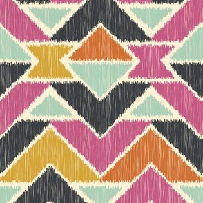 Sequoyah Arrows Ikat