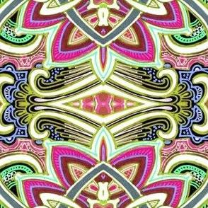 Big Technicolor Paisley Conundrum